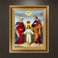 DIY 5D Diamond Embroidery Painting Religious Figures Cross Stitch Kit Home Decor