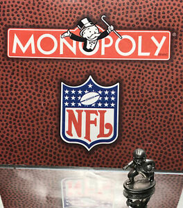1998 MONOPOLY NFL ORIGINAL GAME PARTS PEWTER TOKEN: LOT 5/ LOOSE/ PRE OWNED