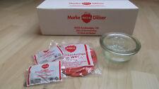 6 pezzi WECK ® 300ml Gourmet-vetro incl. 20 anelli e 24 parentesi/barattoli di vetro