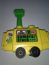 Vintage Creative Playthings T.V. News Camera/Truck