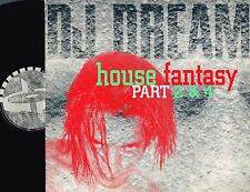 "DJ DREAM House Fantasy Part 2&4 12"" VINYL Dance Pool HOLLAND 664134 8 @Jungle EX"