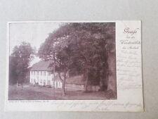 Gruss von der Windmühle b. Ansbach gel. 1901