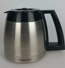 Cuisinart Grind Brew Coffee Maker DGB-600BC Stainless Thermal Carafe Pot 10 Cup