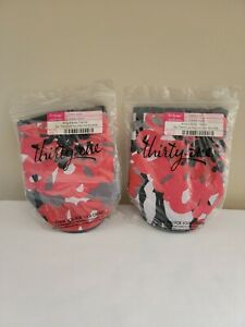 THIRTY-ONE Bold Bloom Bring-A-Bottle Thermal Cup Holder Pouch - LOT OF 2 - NEW