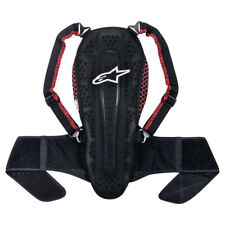 Alpinestars Nucleon KR-2 Adventure Touring Motorbike Back Protector Smoke Red