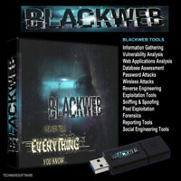 BLACKWEB - 32GB USB Password,Wifi, Forensics, Hacking, Exploitation, Web Tools