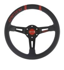 GENUINE Momo Drifting RED Steering wheel 330mm with 90mm dish