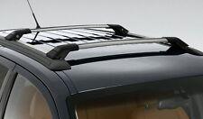 GENUINE FORD SX SY SZ + MK2 TERRITORY SILVER ROOF RACKS CARRY BARS 80KG CAPACITY