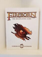 Fireborn The Roleplaying Game, Gamemaster's Handbook, Hardcover, RPG, Fantasy