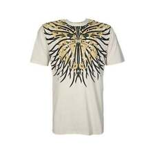 Cotton V Neck Stretch Graphic T-Shirts for Men