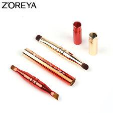 ZOREYA Brand 1pc 4 Head Metal Eye Brush Brow Blending Concealer Eyeshadow Brush