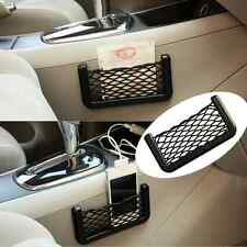 Car Storage Mesh Net Resilient String Phone Bag Holder Organizer For Hyundai Kia