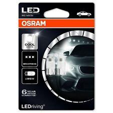 OSRAM LED W5W 12 V Auto Lampadine Bianco Freddo Zeppa 501 Interior 2850CW-02B (TWIN)