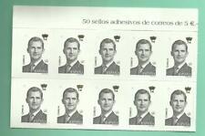 10 SELLOS DE 5 EUROS (SERIE BÁSICA), 30% DESCUENTO, ÚTILES PARA FRANQUEO