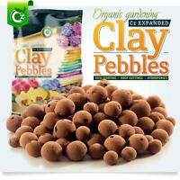 Organic Expanded Clay Pebbles Grow Media Orchids Hydroponics Aquaponics 2 Pounds