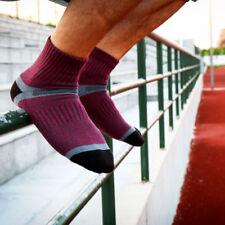 2pair Mens Sport Ankle Socks Crew Quarter Hiking Running Breath Soft Cotton