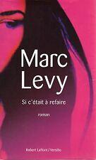 MARC LEVY SI C'ETAIT A REFAIRE + PARIS POSTER GUIDE