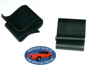 NOS Ford Lincoln Mercury Mustang Radiator Fan Shroud Clips Clip Retainer 2pcs OS