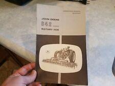 Original John Deere 642 Flexible Rotary Hoe Operator's Manual Om-N159067