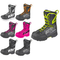 FXR X-Cross Speed Boot Lightweight Lace Hook System Fixed Liner Snocross Boots