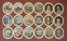 18 Konig Ludwig Dunkel German Kings and Castles, Royalty beer mats coasters