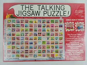 Buffalo Games The Talking Jigsaw Puzzle The Office Building Two-Sided 560 Piece