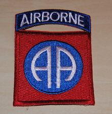 AUFNÄHER PATCH US AIRBORNE US Army 82nd Airborne Division Vietnam Uniform NEU
