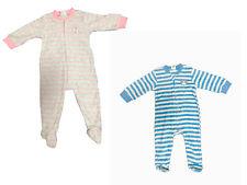Warmer Baby langarm Frottee Schlafanzug Mädchen Jungen Strampler Pyjama Kinder