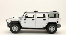 HUMMER H2 SUV WHITE 2003 MAISTO PREMIERE EDITION 36631 1/18 BLANC BIANCA