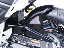 Honda CB500R 13-18 Rear Hugger Gloss Black Silver Mesh - Powerbronze