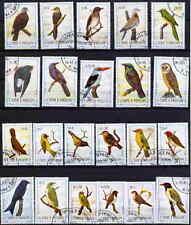 SAINT THOMAS 1983 BIRDS COMPLETE SET OF 22 STAMPS - $42.80 VALUE!