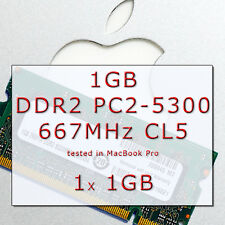 Ram1GB APPLE Mac MacBook// MINI DDR2 Pro 667MHz PC2-5300 SODIMM 200-PIN 1x SDRAM