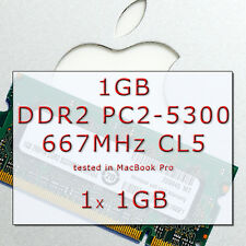 Ram1GB APPLE Mac MacBook/Pro/mini DDR2 667MHz PC2-5300 SODIMM 200-PIN 1x SDRAM