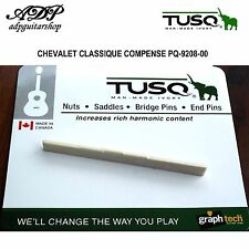 SILLET GraphTech TUSQ PQ-9208 CHEVALET GUITARE CLASSIQUE Bridge Saddle VRAC BULK
