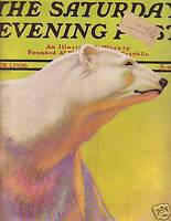 1936 Saturday Evening Post February 1-Henry Ford; Dutch