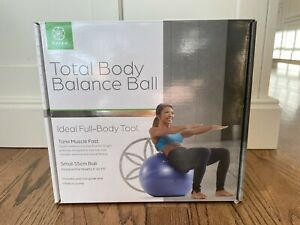 Balance Ball Gaian Total Body Workout Ball  Small 55cm Brand New!