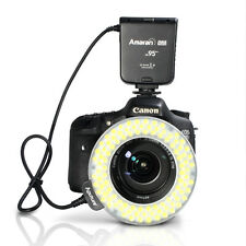 Aputure Amaran Halo AHL-HC100 100 LED Macro Ring Flash Light for Canon DLSR