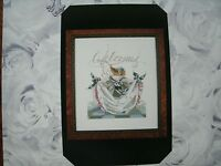 """SALE! COMPLETE XSTITCH KIT """"SAVANNAH'S CURTSY"""" by Mirabilia"""