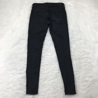 AG Adriano Goldschmied Womens Size 28 The Jackie Tuxedo Super Skinny Jeans