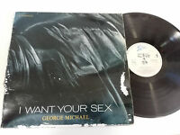 "GEORGE MICHAEL I WANT YOUR SEX MAXI LP 12"" VINYL SPANISH FIRST PRESS 1987 EPIC"