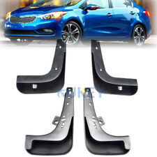 FOR Kia FORTE EX LX 2014-2016 Splash Guard MUD FLAPS 4Pc Front Back 4dr sedan