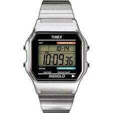 Timex Indiglo Unisex Classic Digital Watch With Expandable Bracelet T78587