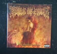 CD- Cradle Of Filth, Nymphetamine - 2004 Roadrunner Records RR 8282-2 Australian