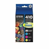 Epson 410 Color Combination Ink Cartridges, New, Genuine, Retail Box, T410520-S