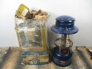 COLEMAN LANTERN 321 BLUE  W / ORIGINAL BOX   DATED. 7 - 74   NO RESERVE