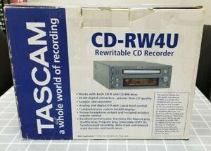 Tascam CD-RW4U Professional Standalone CD Recorder/Burner