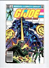 Marvel G.I. JOE #3 1982 VF Vintage Comic