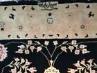 RARE DESIGNER SIGNATURE SILK/WOOL SAROUGH Sarouk Rug Carpet handmade