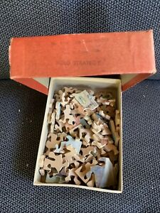 Three Vintage Wooden Jigsaw Puzzles