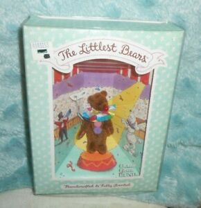 Gund The Littlest Bears #7005 Clown Handcrafted & Fully Jointed